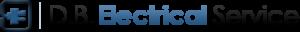 D.B. Electrical Logo Dark Version