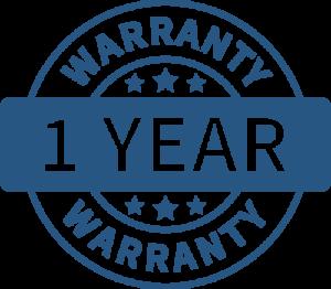One Year Warranties